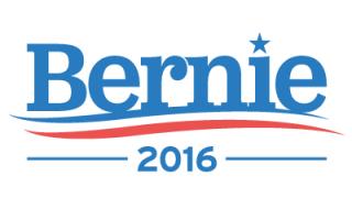 Hillary and Bernie's Logos